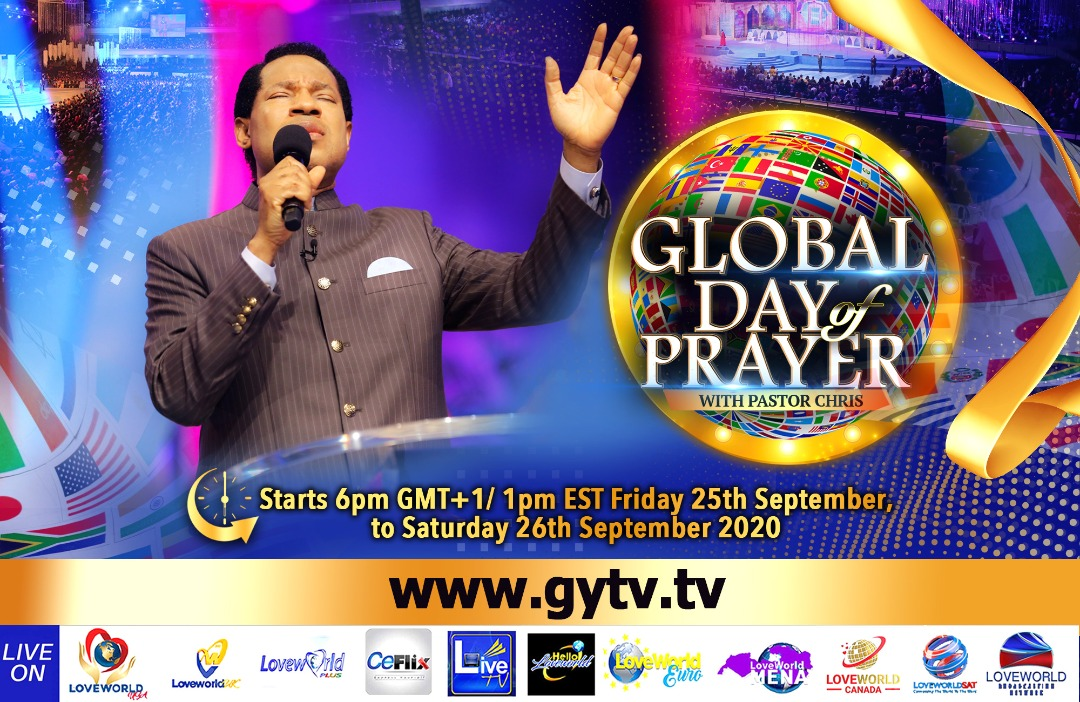 2 Days To Go - Global Day Of Prayer With Pastor Chris