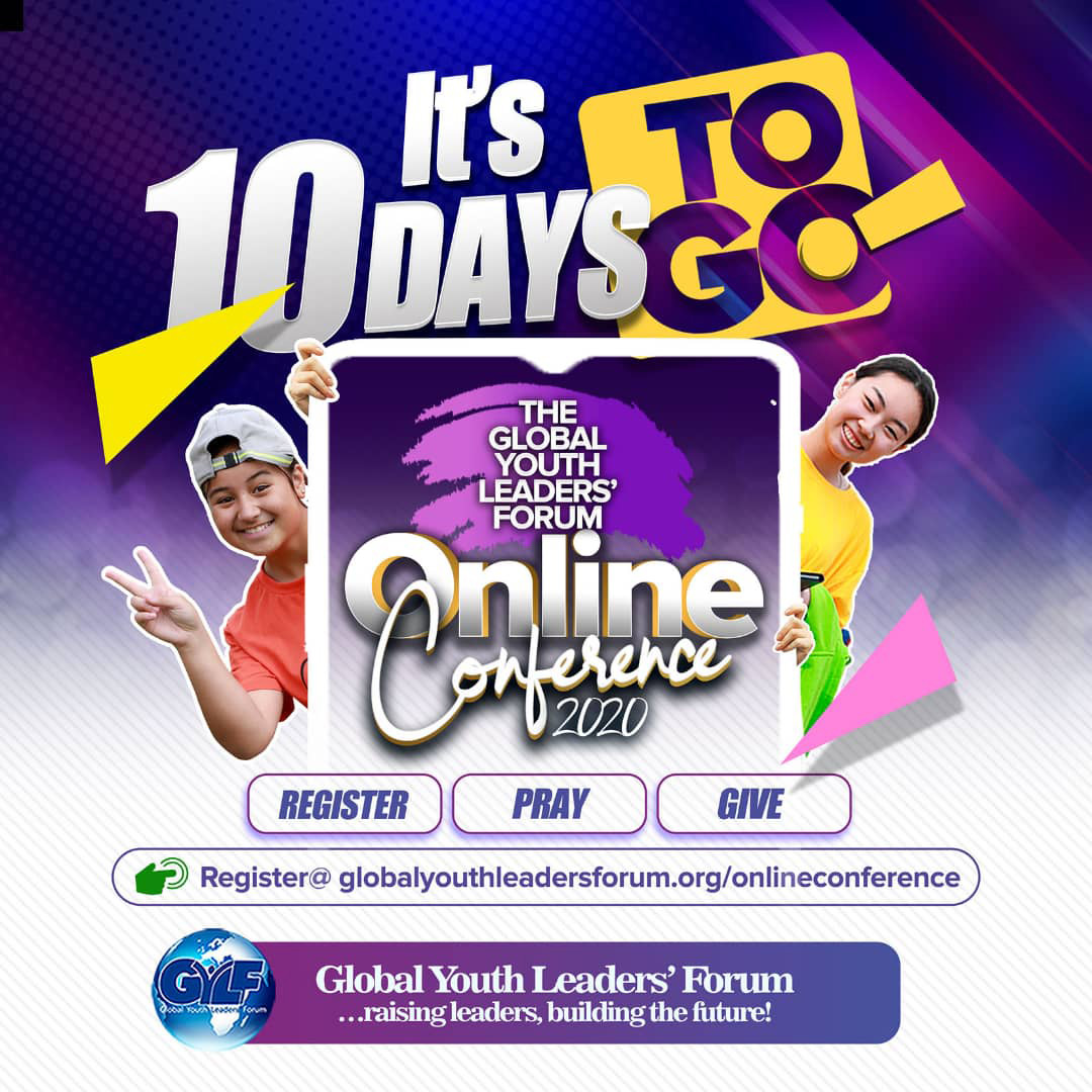 10 Days To Go - GYLF Online Conference 2020
