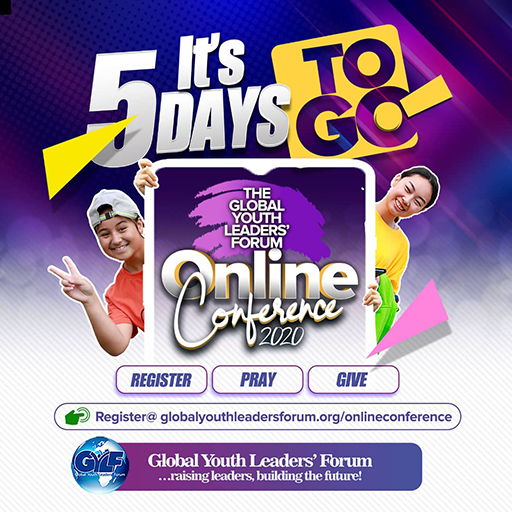 5 Days To Go - GYLF Online Conference 2020
