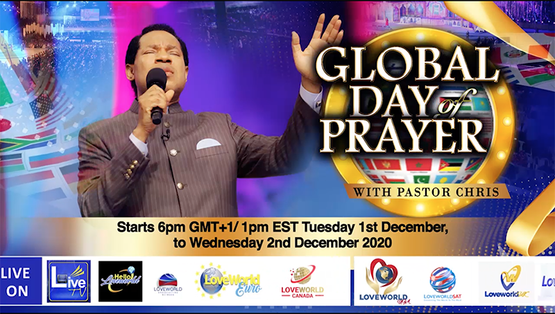 A Time To Issue A New World Order - Global Day of Prayer with Pastor Chris