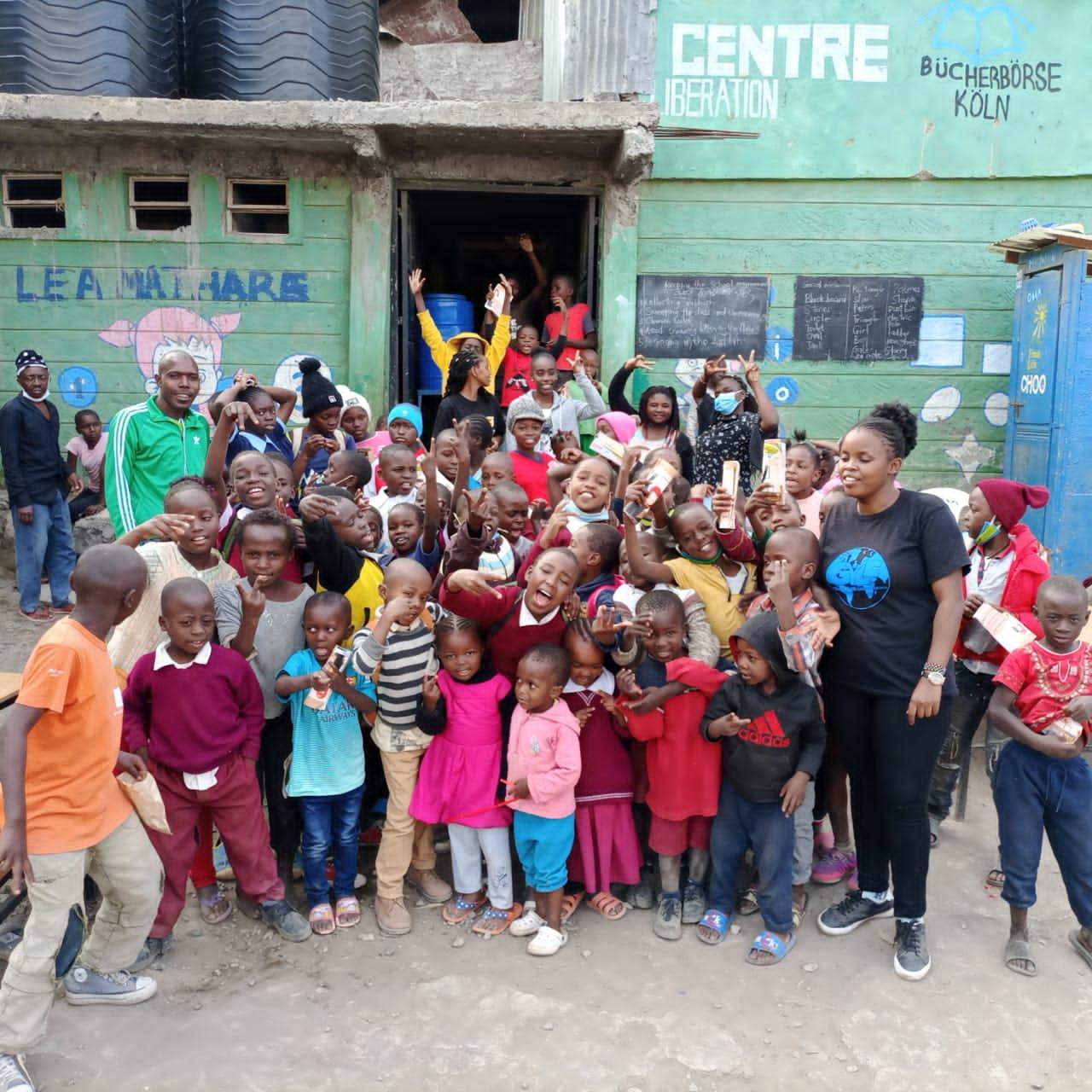 100 KIDS RECEIVE SCHOLARSHIPS FROM THE GYLF IN NAIROBI, KENYA