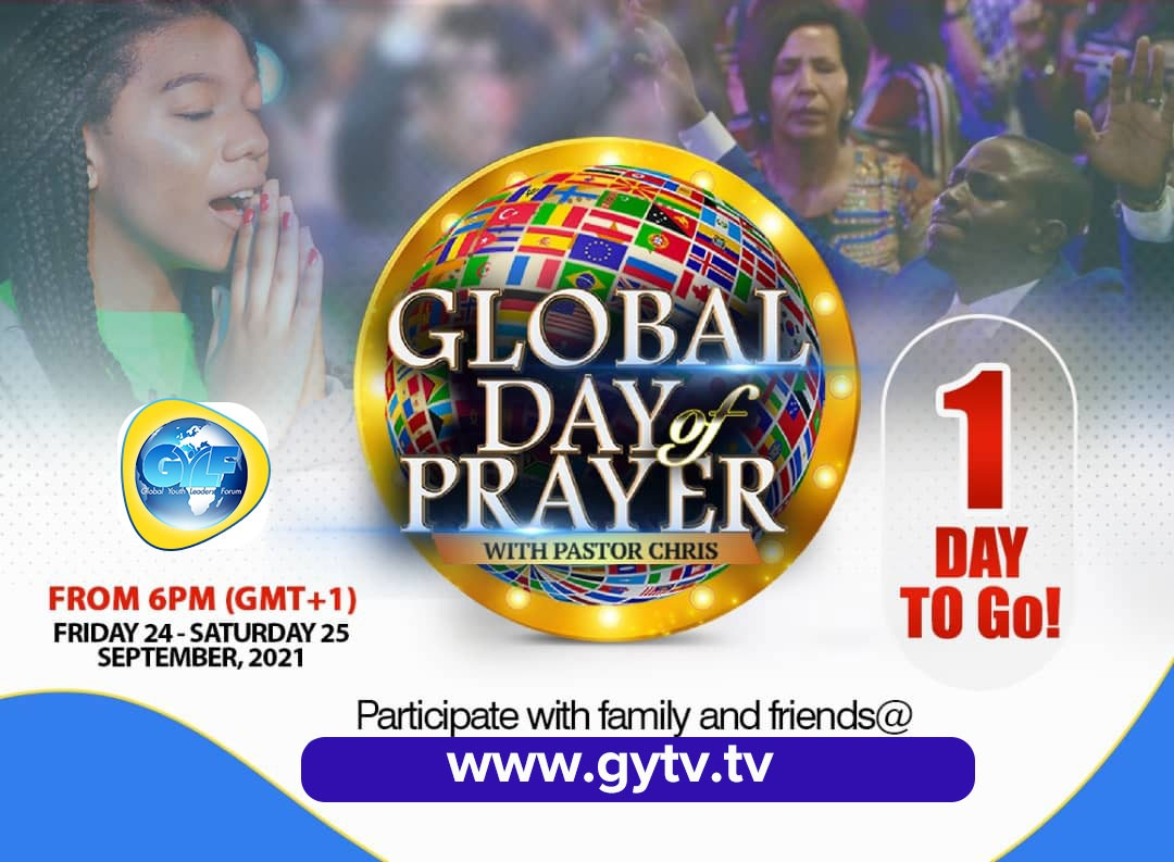 IT'S THE 7TH EDITION OF THE EPOCHAL GLOBAL DAY OF PRAYER!