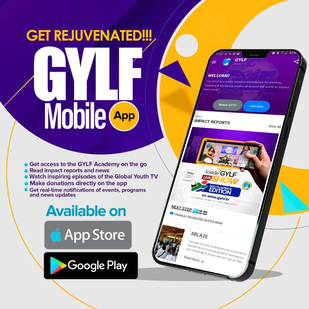 GYLF MOBILE APP