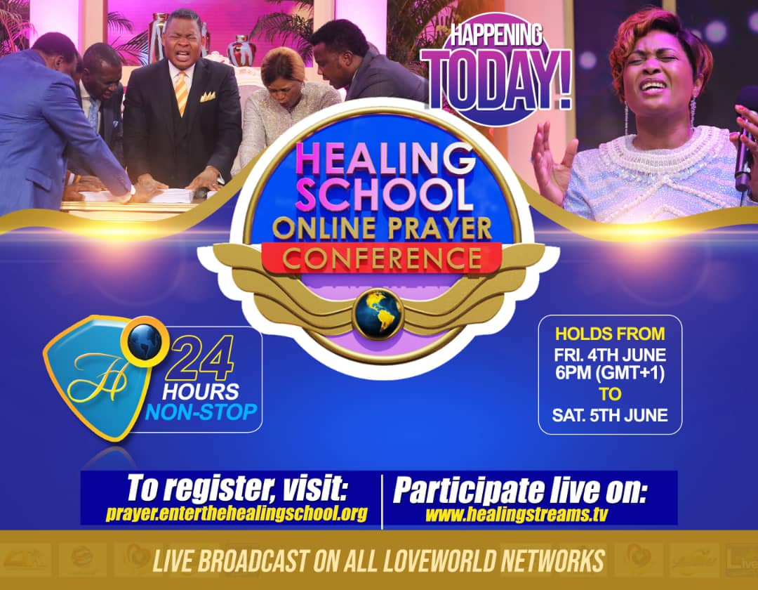 WE ARE TAKING HEALING TO THE NATIONS!