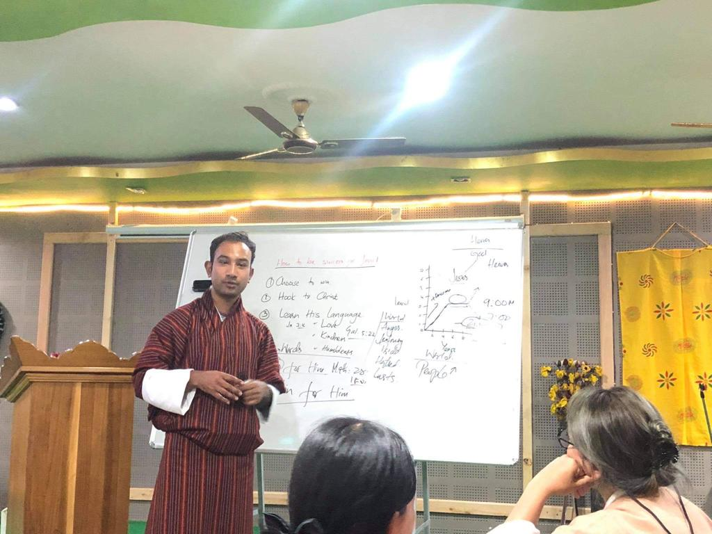 'HOW TO BE A SUCCESS FOR JESUS' OUTREACH IN BHUTAN