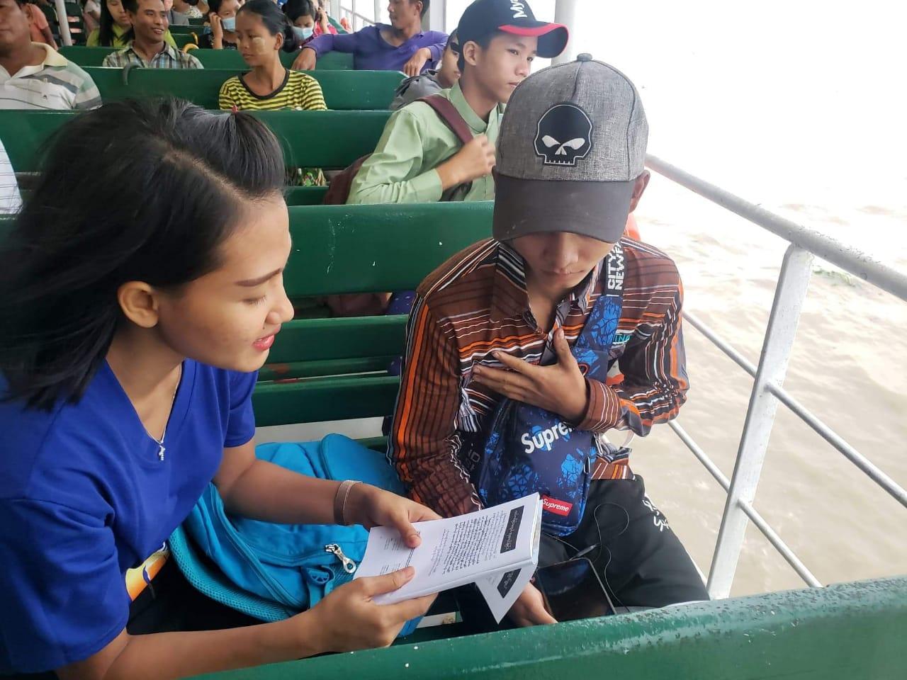 Radical Street Evangelism in Myanmar