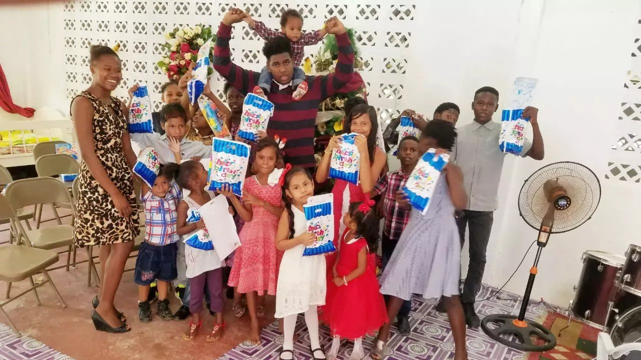 GYLF AMBASSADOR REACHED OUT TO INDIGENT CHILDREN IN GUYANA