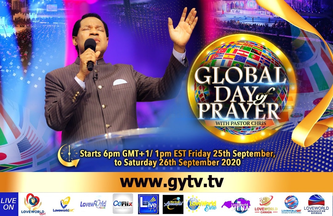 It's Today! The Global Day Of Prayer With Pastor Chris