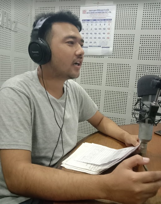 SATURATING THE AIRWAVES WITH THE GOSPEL