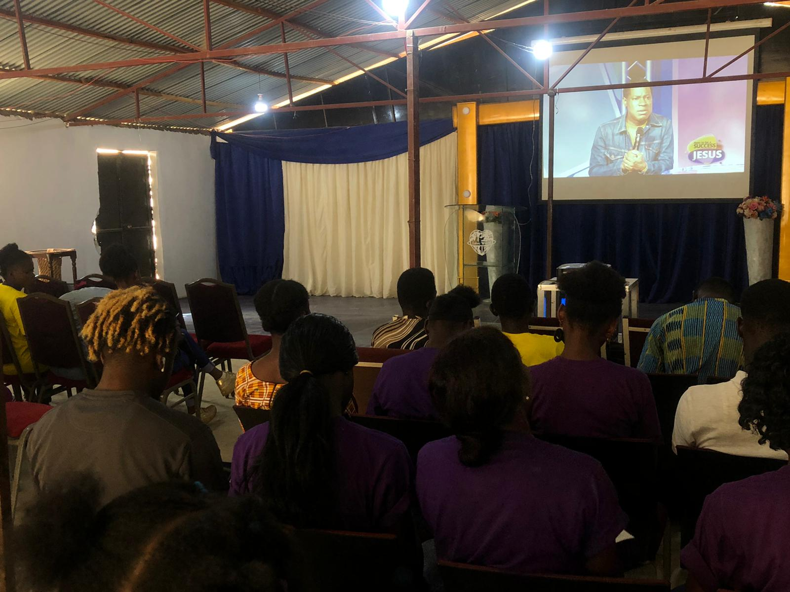 'HOW TO BE A SUCCESS FOR JESUS' OUTREACH IN GAMBIA